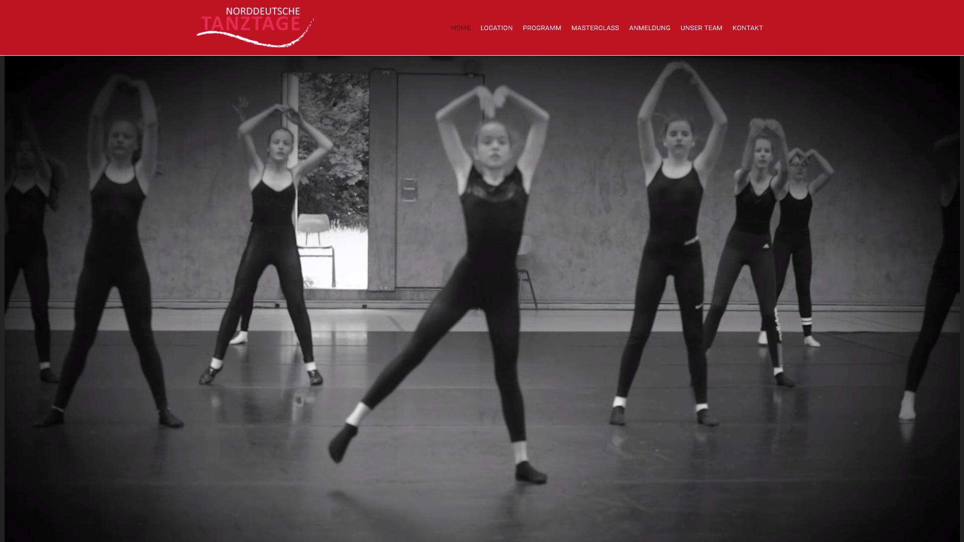 Referenz Norddeutsche Tanztage